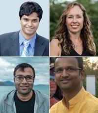VR Ferose, Janessa Gans, Vineet Saraiwala