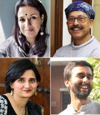 Sunchika Pandey, Osama Manzar and Natasha Badhwar