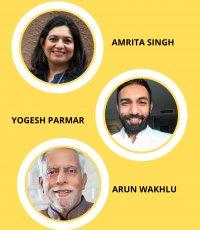 Amrita Singh, Arun Wakhlu and Yogesh Parmar